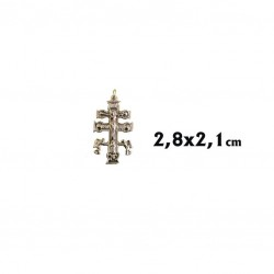 Cruz de Caravaca 2,8 cm.