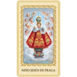 Estampa Niño Jesús de Praga