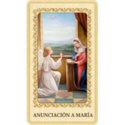 Estampa Anunciación a María