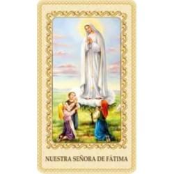 Estampa Virgen de Fátima