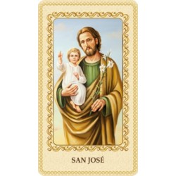 Estampa San José carpintero
