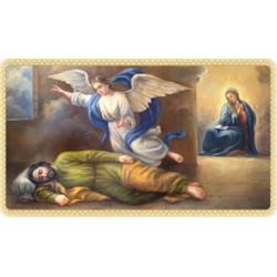 Estampa San José dormido