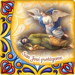 Imán de San José dormido