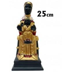 Virgen de Montserrat 25 cm.