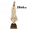 Virgen de Fátima 28 cm.